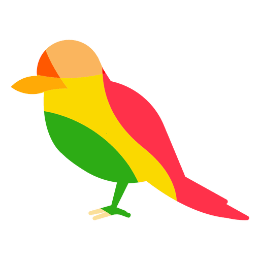 Red Headed Woodpecker Abstract Color Transparent Png Svg