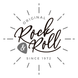 Logo de rock and roll