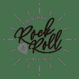 Logotipo de rock and roll