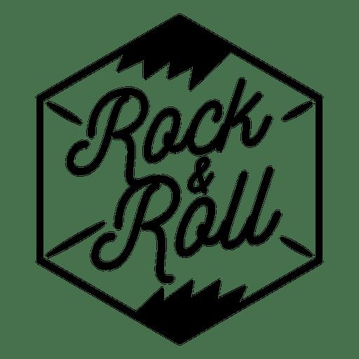 Logotipo de rock and roll logo de rock Transparent PNG