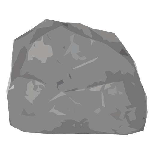 Rock boulder illustration Transparent PNG
