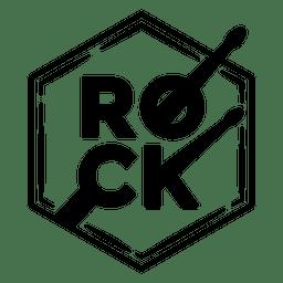 Logotipo de la música rock