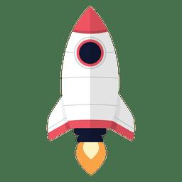 Desenhos animados de foguete