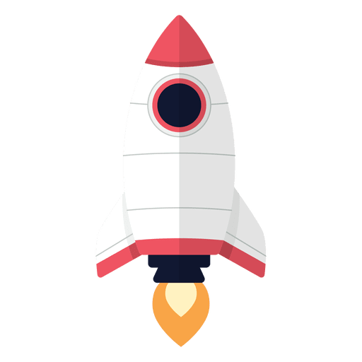 Raketen-Cartoon