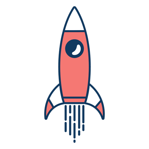 Rocket clipart Transparent PNG
