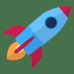 Ilustração do foguete da ilustração do foguete
