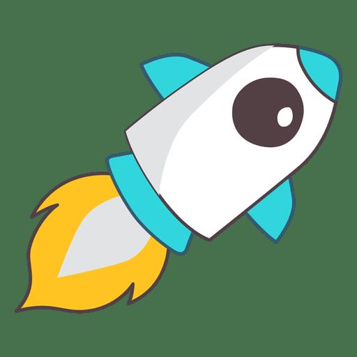 Espacio de ilustración de cohete Transparent PNG
