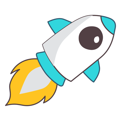 Rocket illustration space Transparent PNG