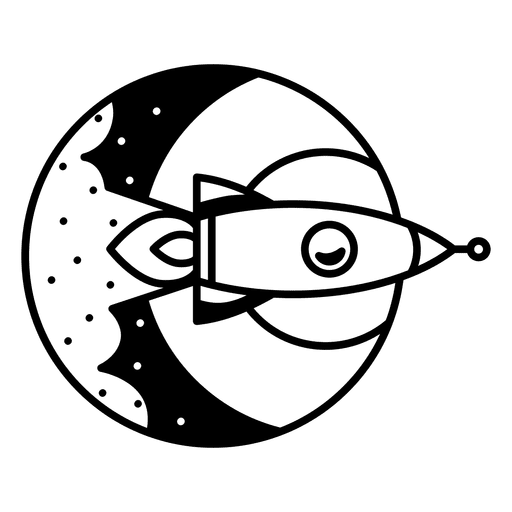 Logotipo do foguete Transparent PNG