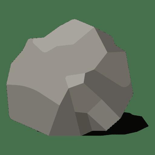 Round rock illustration Transparent PNG