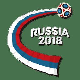 Logotipo da Rússia 2018