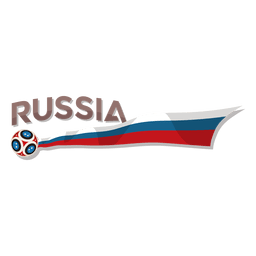 Logotipo de la copa del mundo de Rusia