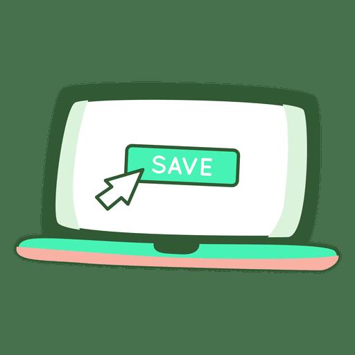 Save file Transparent PNG