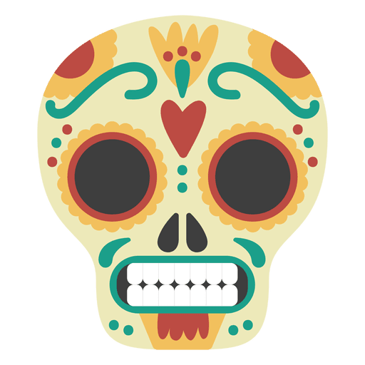 Mascara de calavera Transparent PNG