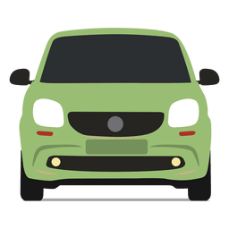 Smart car front view