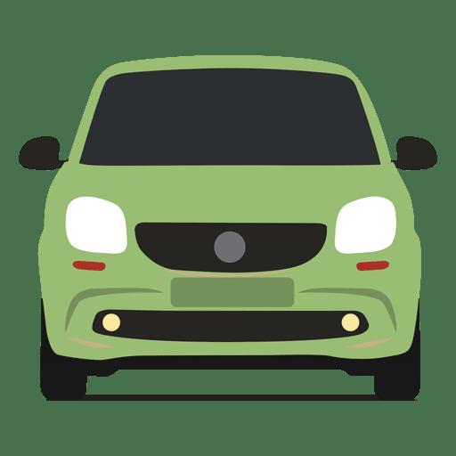 Vista frontal del coche inteligente Transparent PNG