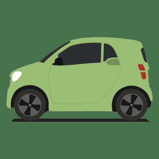 Vista lateral del coche inteligente Transparent PNG