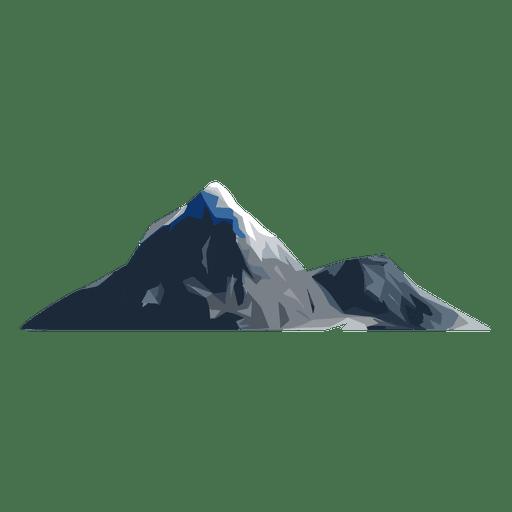 Montaña de nieve Transparent PNG
