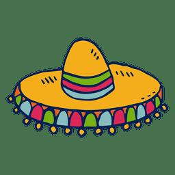 Ilustração de sombrero