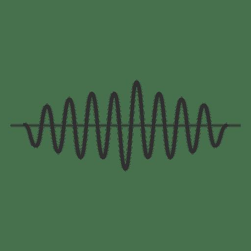 Onda sonora Transparent PNG