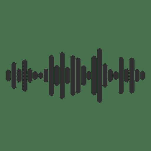 Ícone de onda sonora Transparent PNG