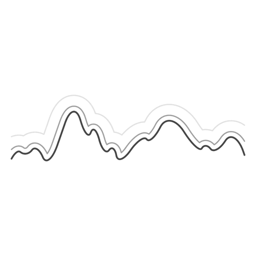 Sound wave line