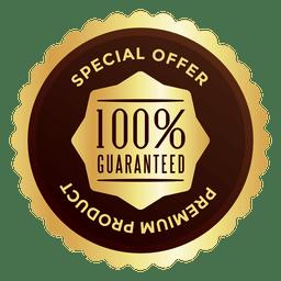 Emblema de oferta especial