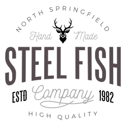 Steel fish logo