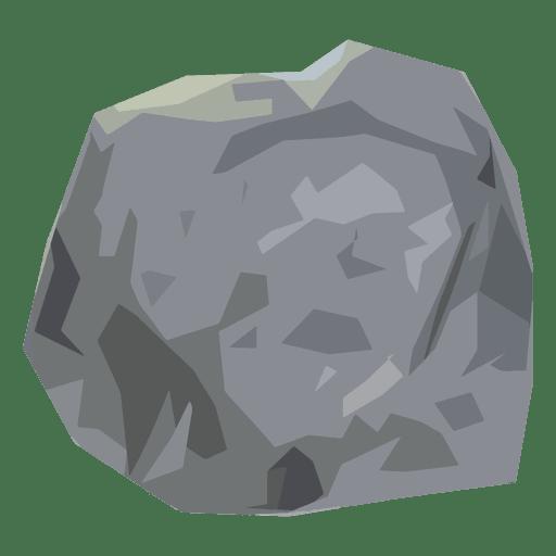 Stone boulder illustration Transparent PNG
