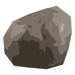 Stone rock illustration