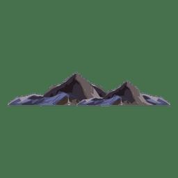 Montanha da cimeira