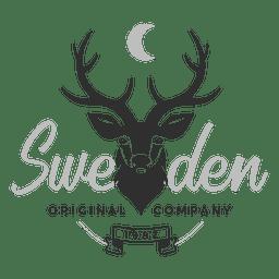 Logo de ciervo de Suecia