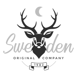 Sweden deer logo