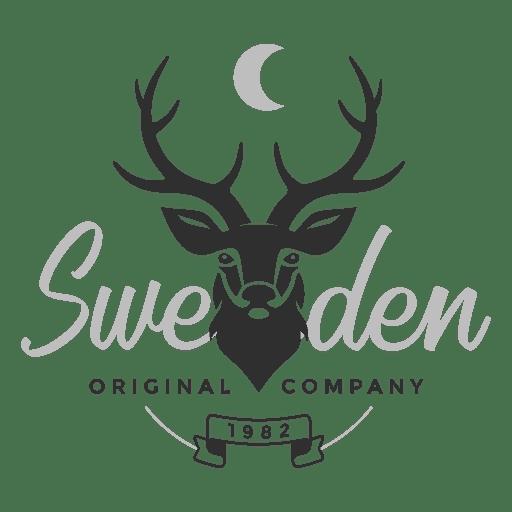 Logotipo de ciervo de Suecia