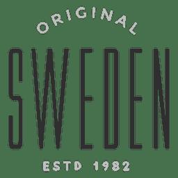 Logotipo original da Suécia