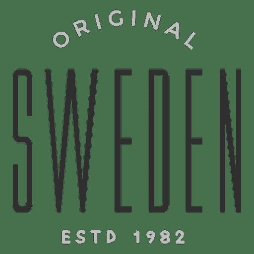 Logotipo original da Suécia Transparent PNG