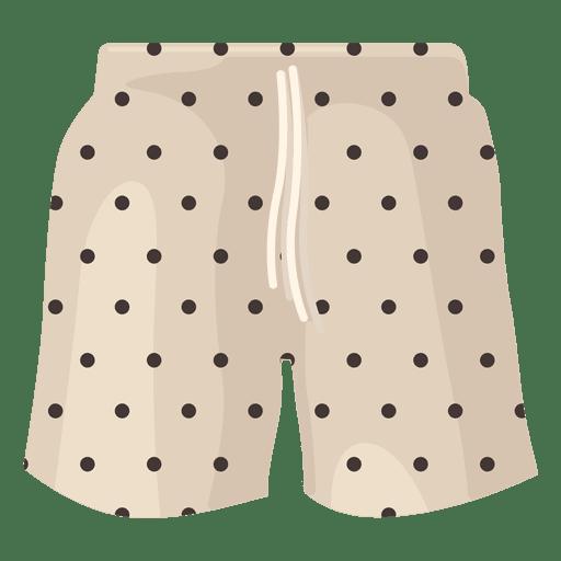 7397249702 Swimming shorts black dots - Transparent PNG & SVG vector