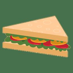 Sandwich de triángulo