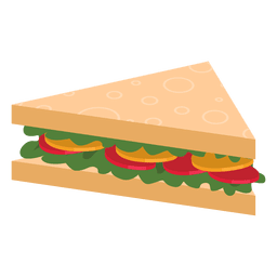 Triangle sandwich