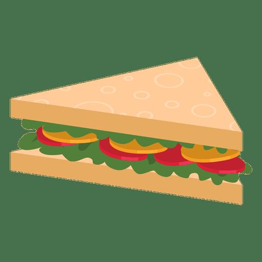 Triangle sandwich Transparent PNG