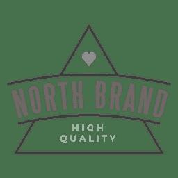 Logotipo de la marca triángulo