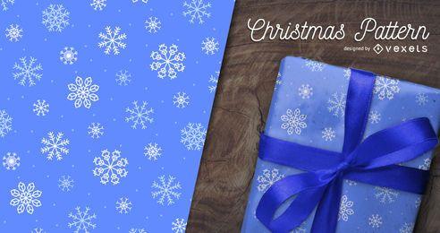 Padrão de floco de neve do Natal