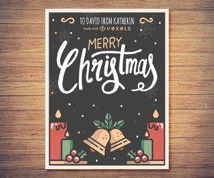 Fabricante de cartão de natal