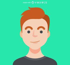 Creador de avatar masculino