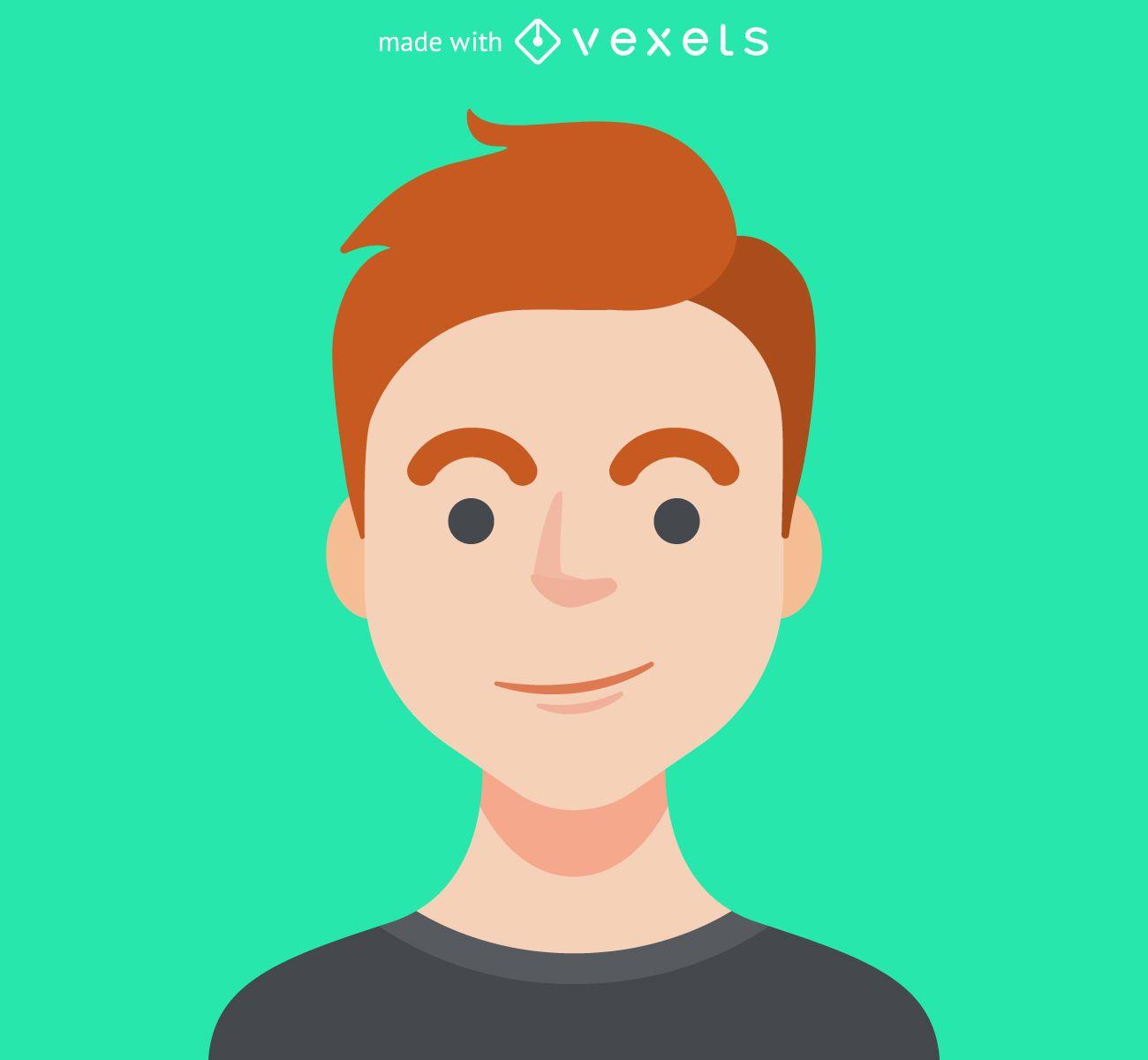 Criador de avatar masculino