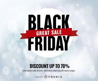 Black Friday venda poster maker