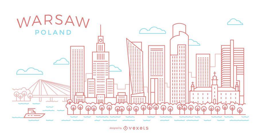 Ilustración del horizonte del movimiento de Varsovia