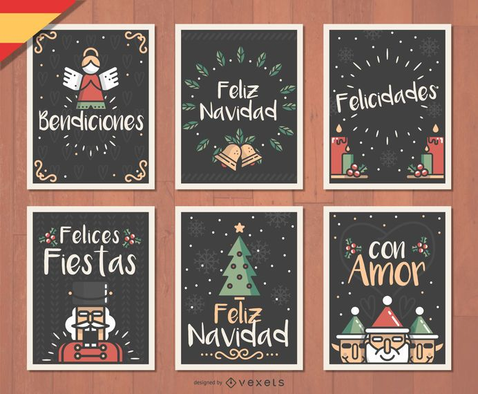 Spanish Feliz Navidad Christmas card