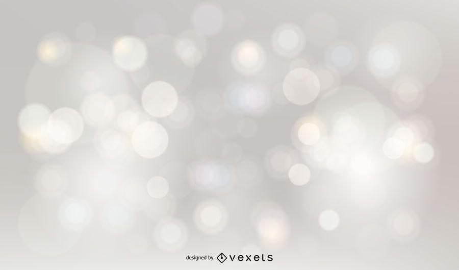 Silberner Funkeln Bokeh Hintergrund