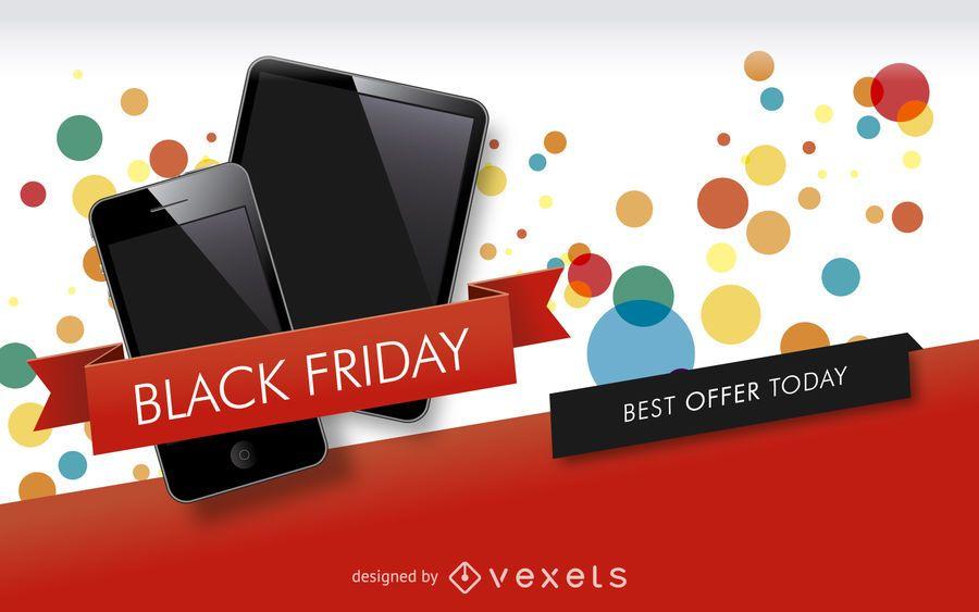 Black Friday sale banner design